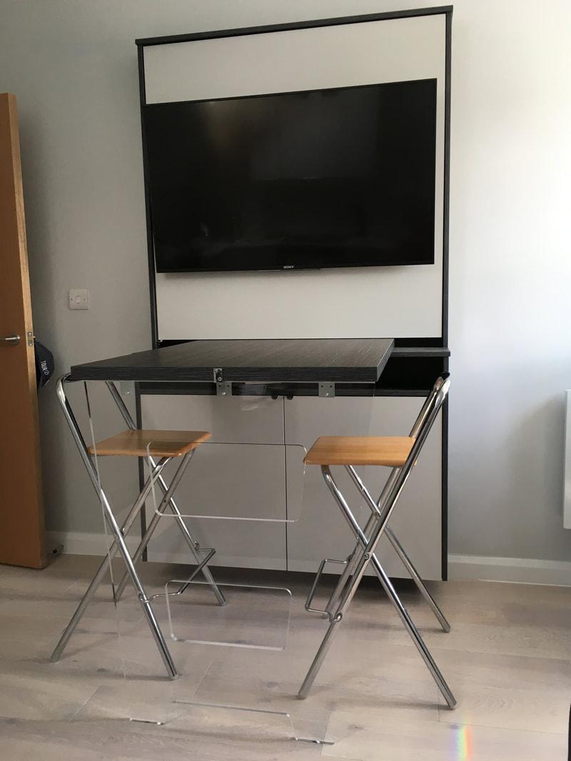 Elite Interiors London Media Centres And Home Entertainment  # Table Television En Bois